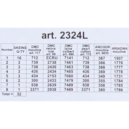ORCHİDEA 40 x 40 cm Anne Kucağı Baskılı Goblen 2324L