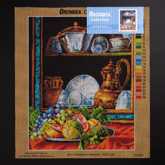 ORCHİDEA 40 x 50 cm Mutfaktaki Meyveler Baskılı Goblen 2195M