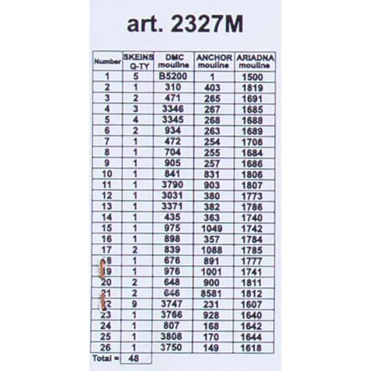 ORCHİDEA 40 x 50 cm Nehirdeki Eski Değirmen Baskılı Goblen 2327M