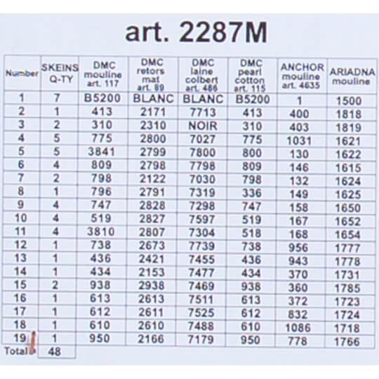 ORCHİDEA 40 x 50 cm Kış Sabahı Baskılı Goblen 2287M