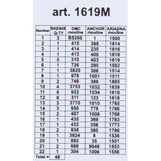 ORCHİDEA 40 x 50 cm Çingene Kadın Baskılı Goblen 1619M
