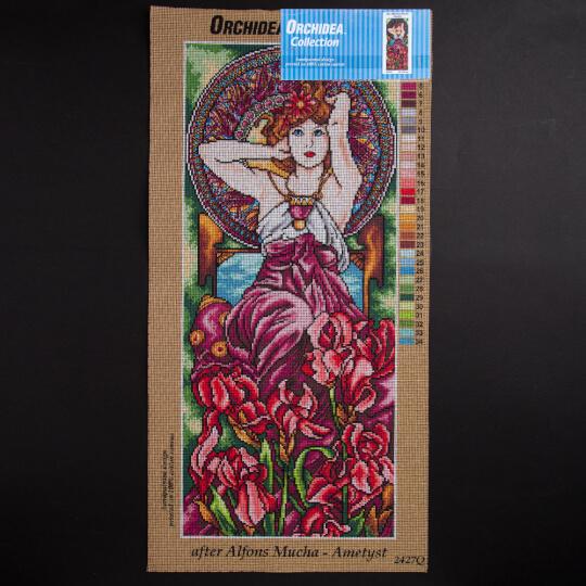 ORCHİDEA 30 x 70 cm Kadın Baskılı Goblen 2427Q