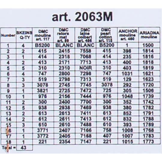 ORCHİDEA 40 x 50 cm Gece Sürüşü Baskılı Goblen 2063M