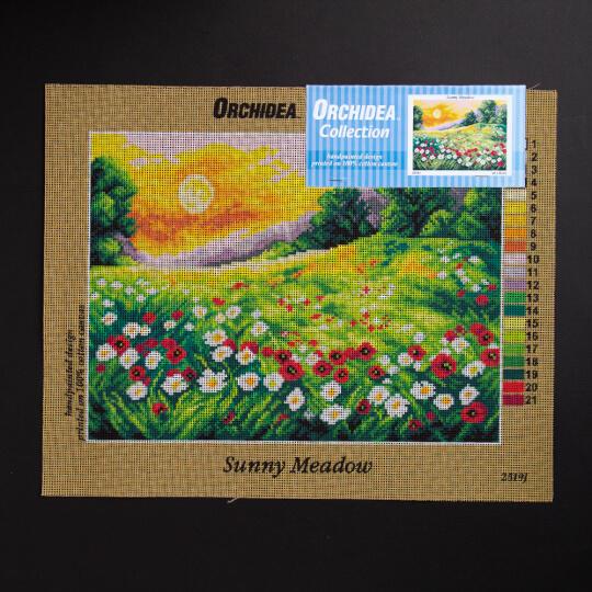 ORCHİDEA 30 x 40 cm Güneşli Çayır Baskılı Goblen 2519J
