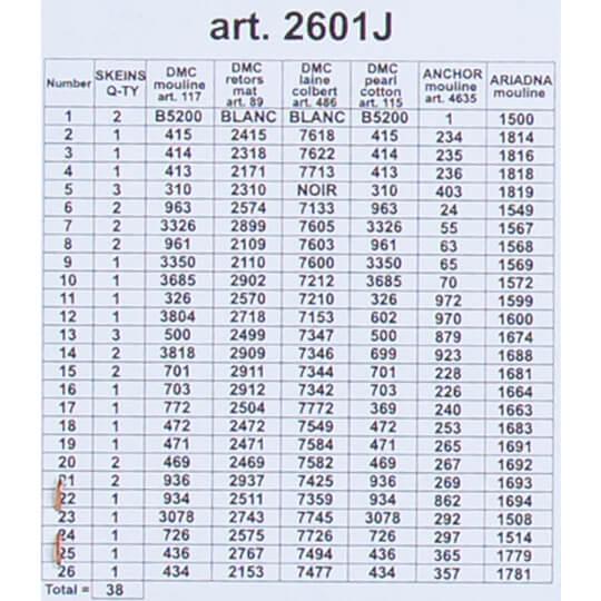 ORCHİDEA 30 x 40 cm Şakayık ve Papatyalar Baskılı Goblen 2601J