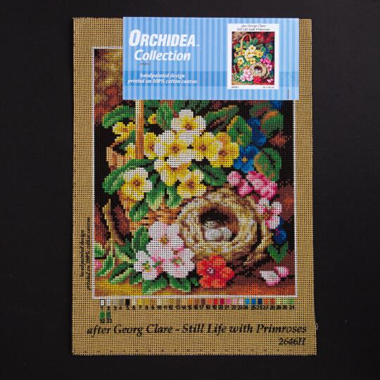 ORCHİDEA 24 x 30 cm Çuha Çiçeği Sepeti Baskılı Goblen 2646H