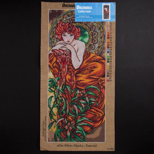 ORCHİDEA 30 x 70 cm Kadın Baskılı Goblen 2429Q