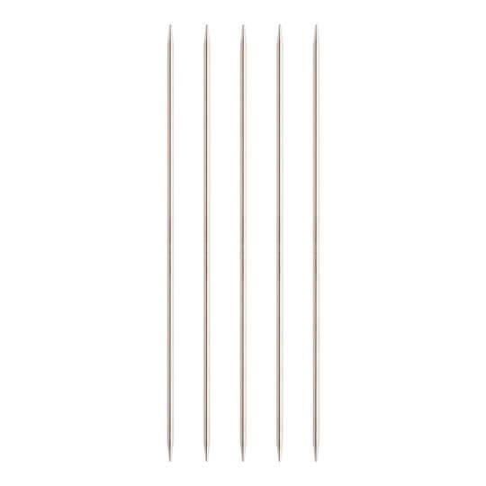 ChiaoGoo 5'li 4,00 Mm 20 Cm Paslanmaz Çelik Çorap Şişi - 6008-6