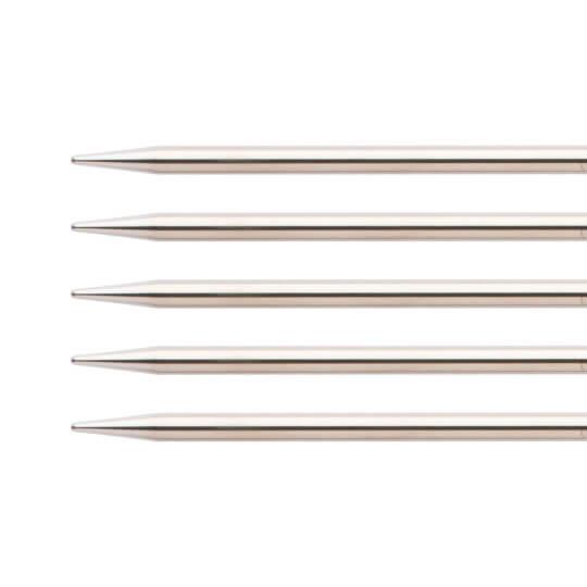 ChiaoGoo 5'li 5,00 Mm 20 Cm Paslanmaz Çelik Çorap Şişi - 6008-8