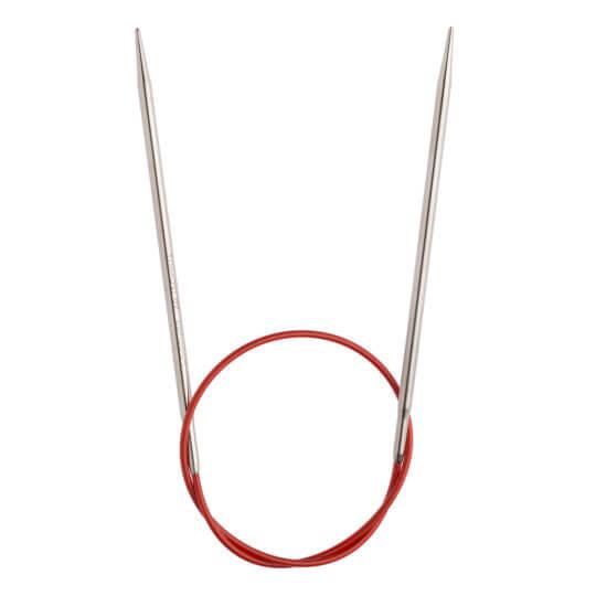ChiaoGoo Red Lace 3,5 Mm 40 Cm Paslanmaz Çelik Misinalı Şiş - 7016-4