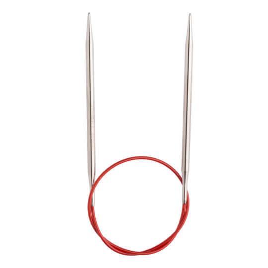 ChiaoGoo Red Lace 5,50 Mm 40 Cm Paslanmaz Çelik Misinalı Şiş - 7016-9