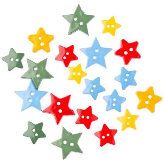 Buttons & Galore Yıldız Dekoratif Düğme - 4024