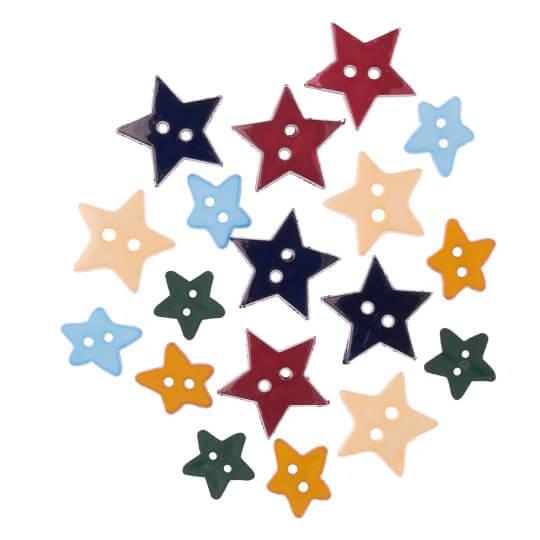 Buttons & Galore Yıldız Dekoratif Düğme - 4109