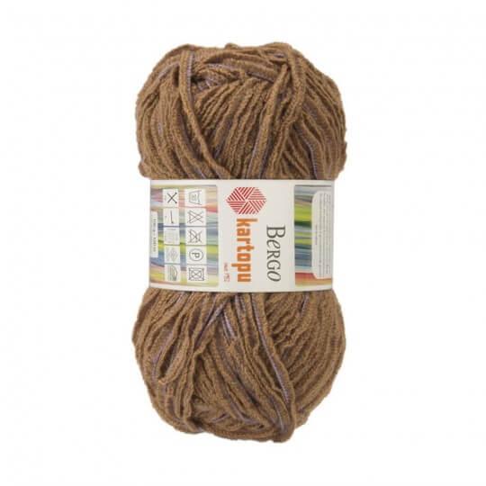 Kartopu 5'li paket Bergo Kahverengi El Örgü İpi -MU01024