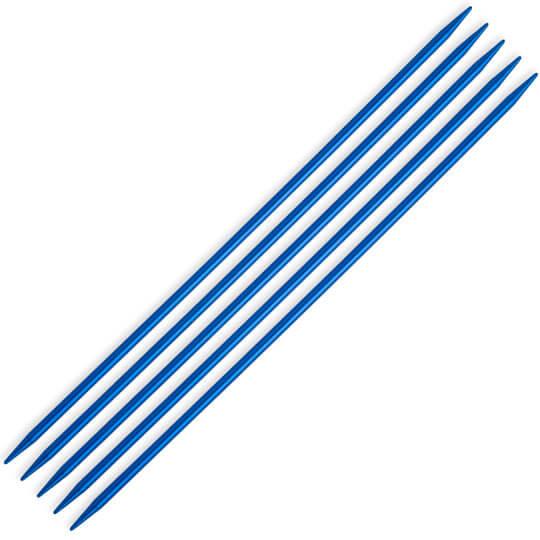 Kartopu 2,5 mm  20 cm Mavi Metal Çorap Şişi