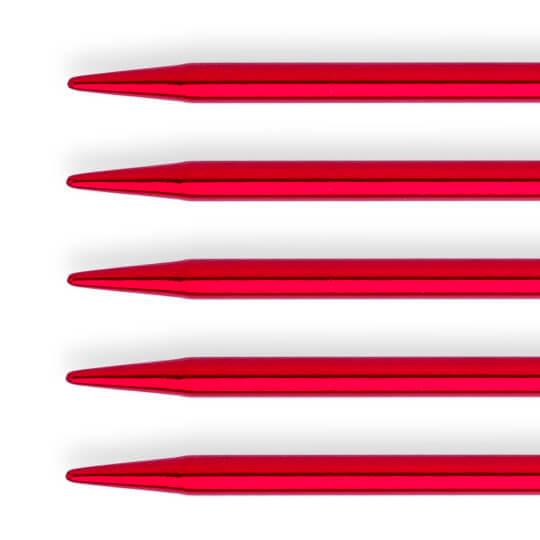 Kartopu 3 mm  20 cm Kırmızı Renkli Metal Çorap Şişi