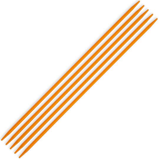 Kartopu 3 mm  20 cm Sarı Metal Çorap Şişi