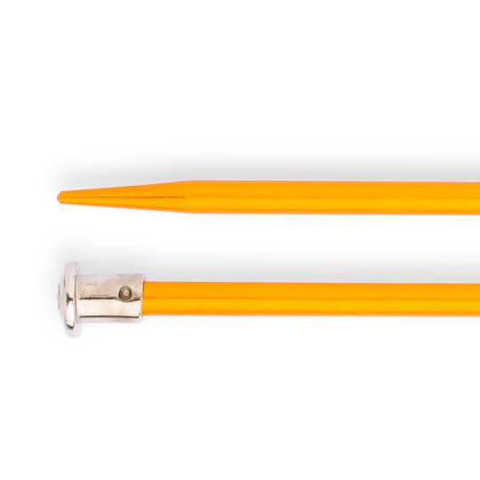 Kartopu 5 mm 35 cm Sarı Metal Örgü Şişi