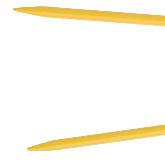 Kartopu 6 mm 100 cm Sarı  Misinalı Şiş