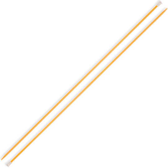 Kartopu 3 mm 35 cm Sarı Metal Örgü Şişi