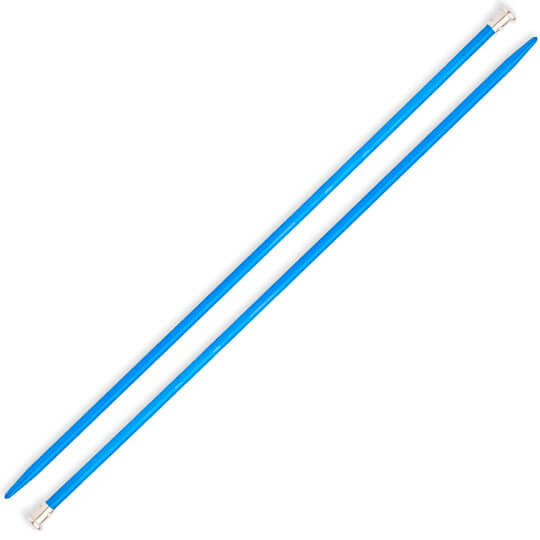 Kartopu 3 mm 35 cm Mavi Metal Örgü Şişi