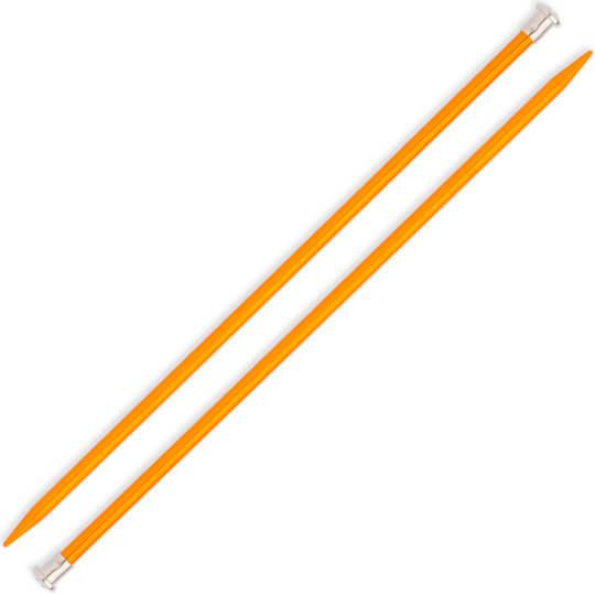 Kartopu 7 mm 35 cm Sarı Metal Örgü Şişi