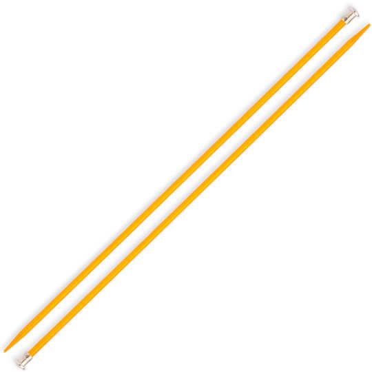 Kartopu 6 mm 35 cm Sarı Metal Örgü Şişi
