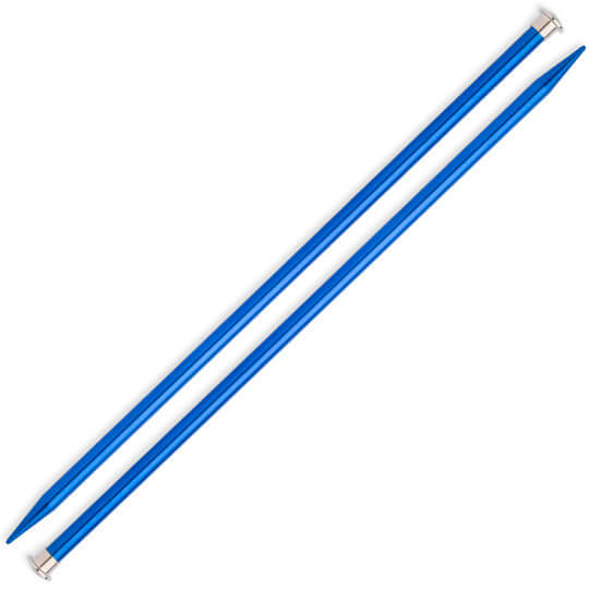 Kartopu 9 mm 35 cm Mavi Metal Örgü Şişi