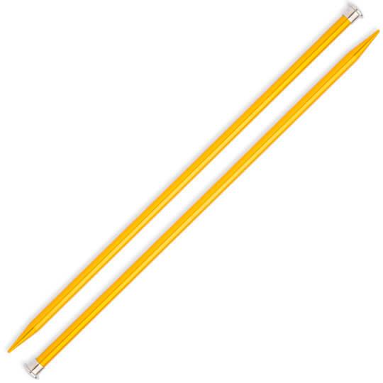 Kartopu 9 mm 35 cm Sarı Metal Örgü Şişi