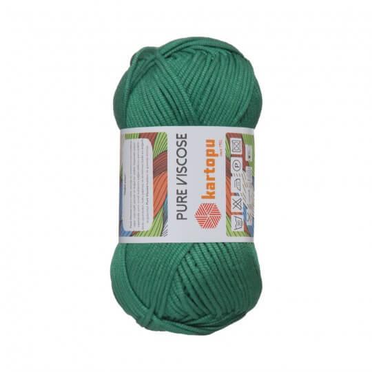 Kartopu Pure Viscose Yeşil El Örgü İpi - K367