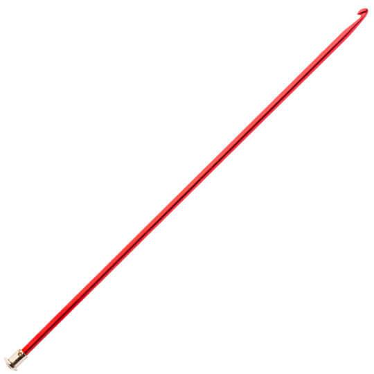 Kartopu 4 mm 25 cm Kırmızı Metal Gagalı Şiş Tunus Tığı - K003.1.0027XXX4