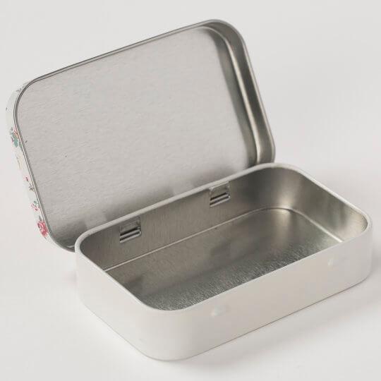 Kartopu Metal Düğme Kutusu