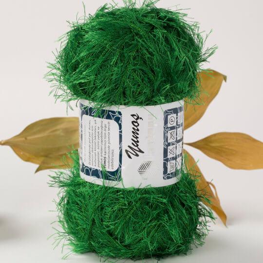 Kartopu 5'li paket Yumoş Sakallı Yeşil El Örgü İpi - K451