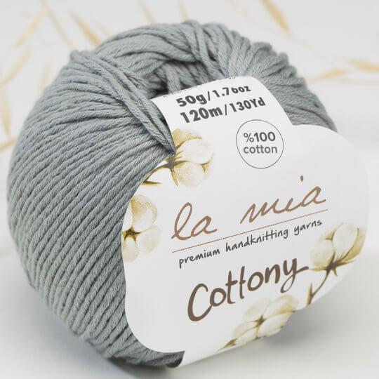 La Mia Cottony Gri Bebek El Örgü İpi - P20