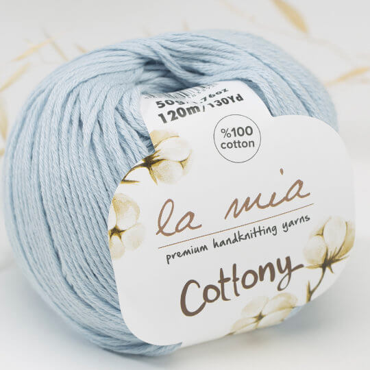 La Mia Cottony Bebe Mavi Bebek El Örgü İpi - P14-L014