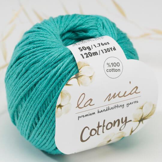 La Mia Cottony Yeşil Bebek El Örgü İpi - P8