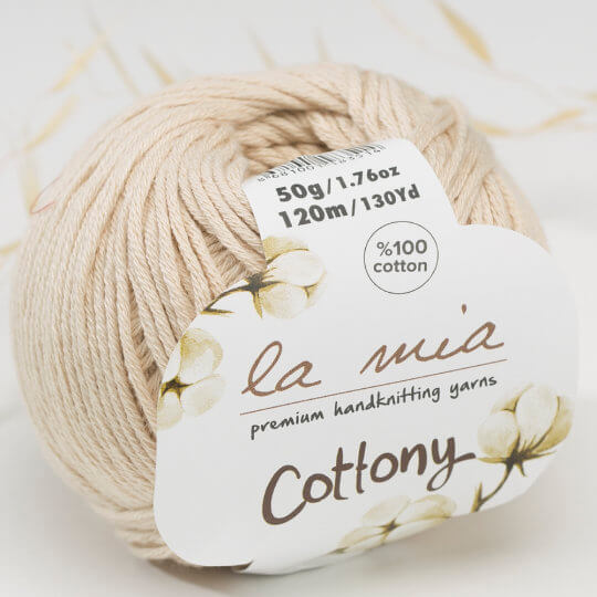 La Mia Cottony Krem Bebek El Örgü İpi - P2-L002