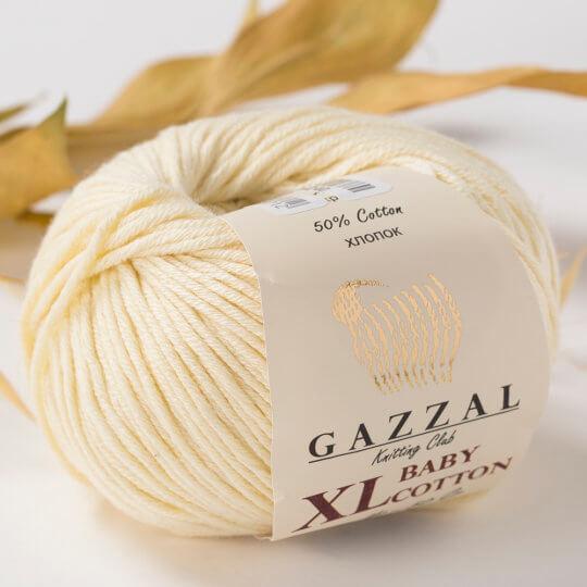 Gazzal Baby Cotton XL Bej Bebek Yünü -3437XL