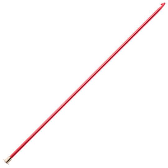 Kartopu 5 mm 35 cm Kırmızı Renkli Metal Gagalı Şiş Tunus Tığı - K003.1.0017XXX5