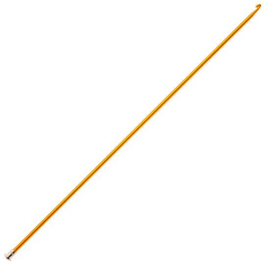 Kartopu 5 mm 35 cm Sarı Renkli Metal Gagalı Şiş Tunus Tığı - K003.1.0017XXX5
