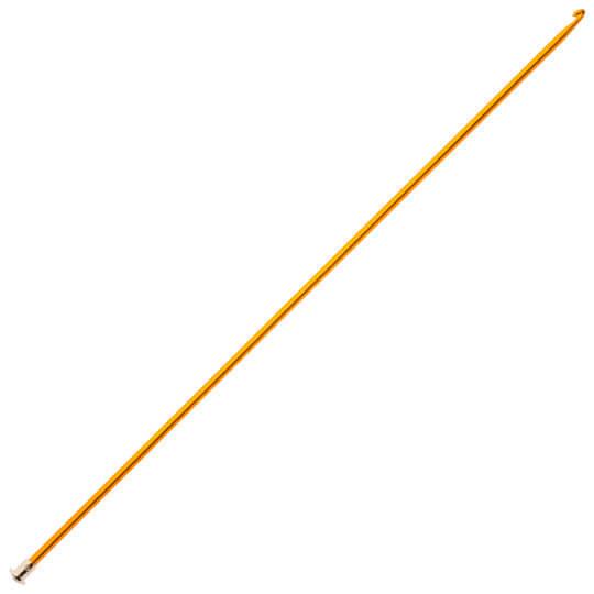 Kartopu 4,5 mm 35 cm Sarı Renkli Metal Gagalı Şiş Tunus Tığı - K003.1.0017XXX4.5