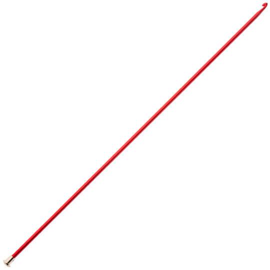 Kartopu 4 mm 35 cm Kırmızı Renkli Metal Gagalı Şiş Tunus Tığı - K003.1.0017XXX4