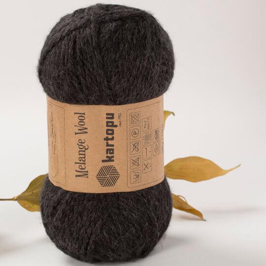 Kartopu Melange Wool Füme El Örgü İpi - M1010