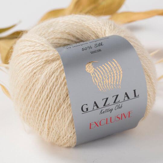 Gazzal Exclusive Bej El Örgü İpi- 9904