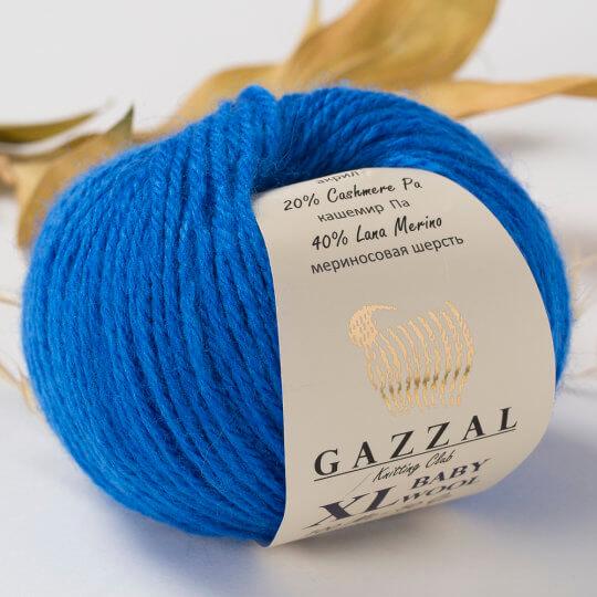 Gazzal Baby Wool XL Mavi Bebek Yünü - 830XL