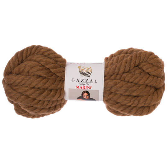 Gazzal Marine Kahverengi El Örgü İpi - 5510