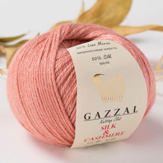 Gazzal Silk&Cashmere Yavruağzı El Örgü İpi - 453