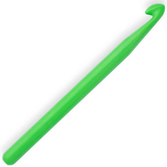 Kartopu 9 mm Yeşil Plastik Yün Tığ