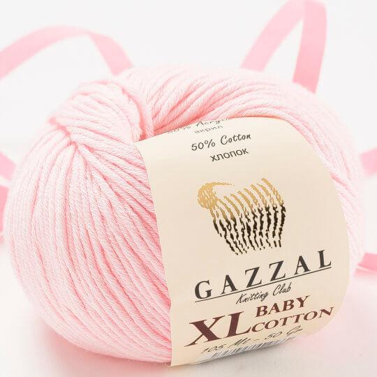 Gazzal Baby Cotton XL Açık Pembe Bebek Yünü - 3411XL