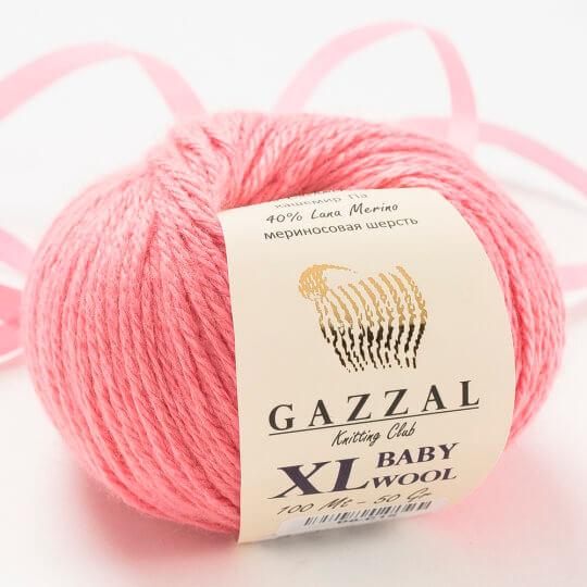 Gazzal Baby Wool XL Pembe Bebek Yünü - 828XL